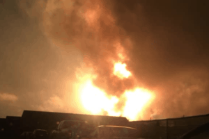 Explosion In Southwest Philly