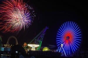 4th of July Fireworks in Wildwood