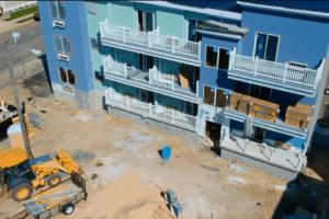 Le Voyageur Motel Construction Update