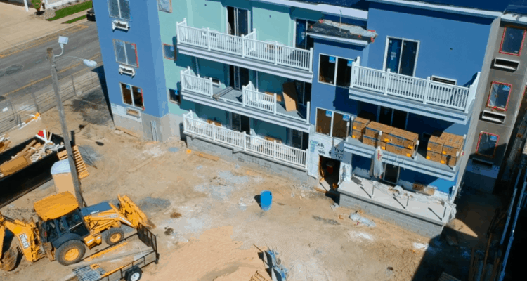 Le Voyageur Motel Construction Update