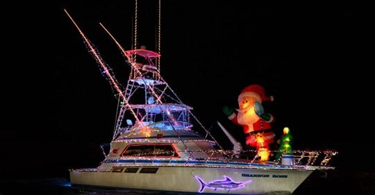 Christmas In July Boat Parade And More!