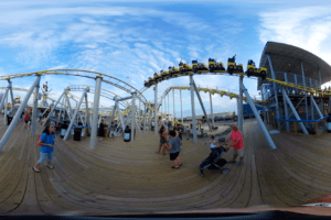 The Runaway Tram in 360