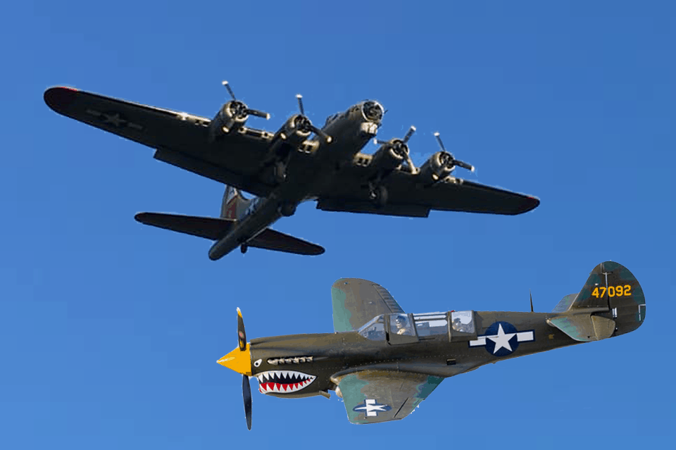 WWII Planes Over Wildwood
