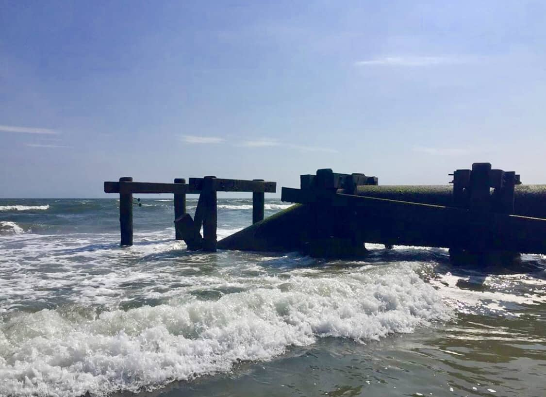 Outfall Pipe Collapse In North Wildwood