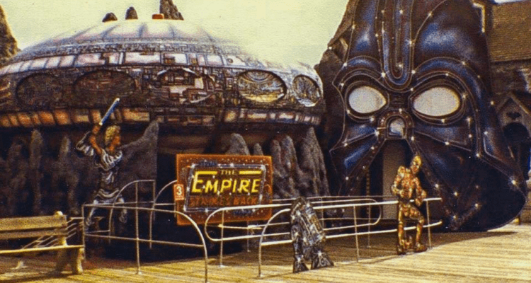 Do You Remember The Morey's Piers Star Wars Ride?