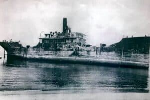 Historic Photos of The Concrete Ship Found