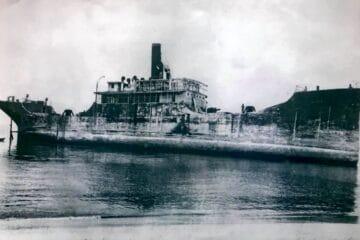 Historic Photos of The Concrete Ship Found