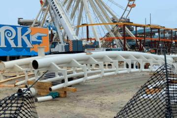 Sea Serpent Coaster Track Has Arrived!