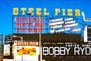 Atlantic City's Steel Pier from the 1960s