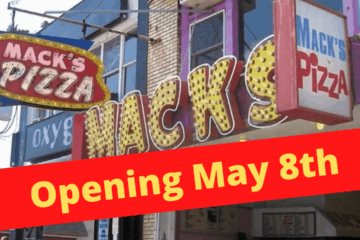 Mack's Pizza Announce Opening Day 2020