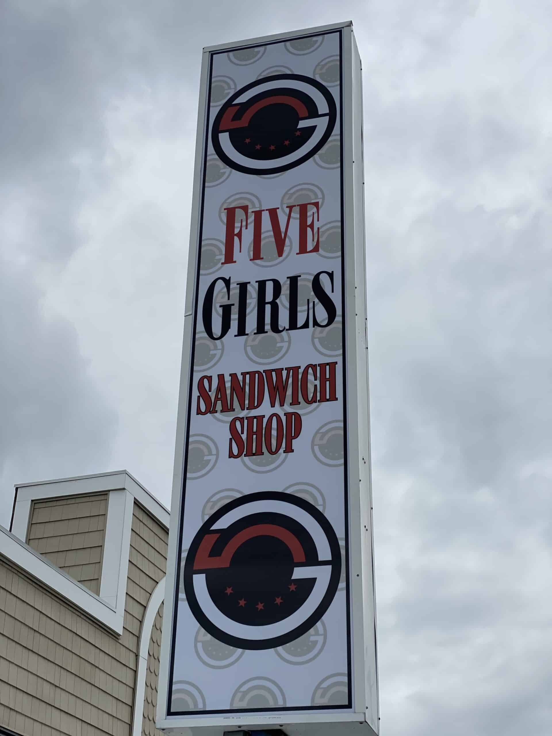 Five Girls Sandwich Shop Opening This Summer!