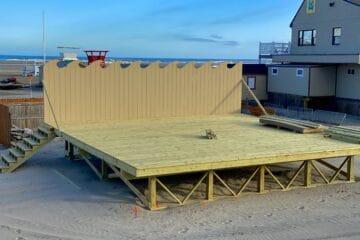New Wildwood Boardwalk Beach Stage!