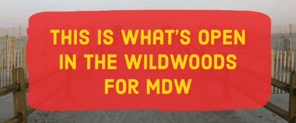 What's Open In The Wildwoods For Memorial Day Weekend