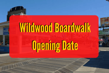 Wildwood Boardwalk Opening Date Announced