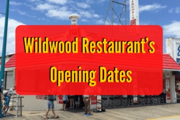 Wildwood Restaurant's Opening Dates
