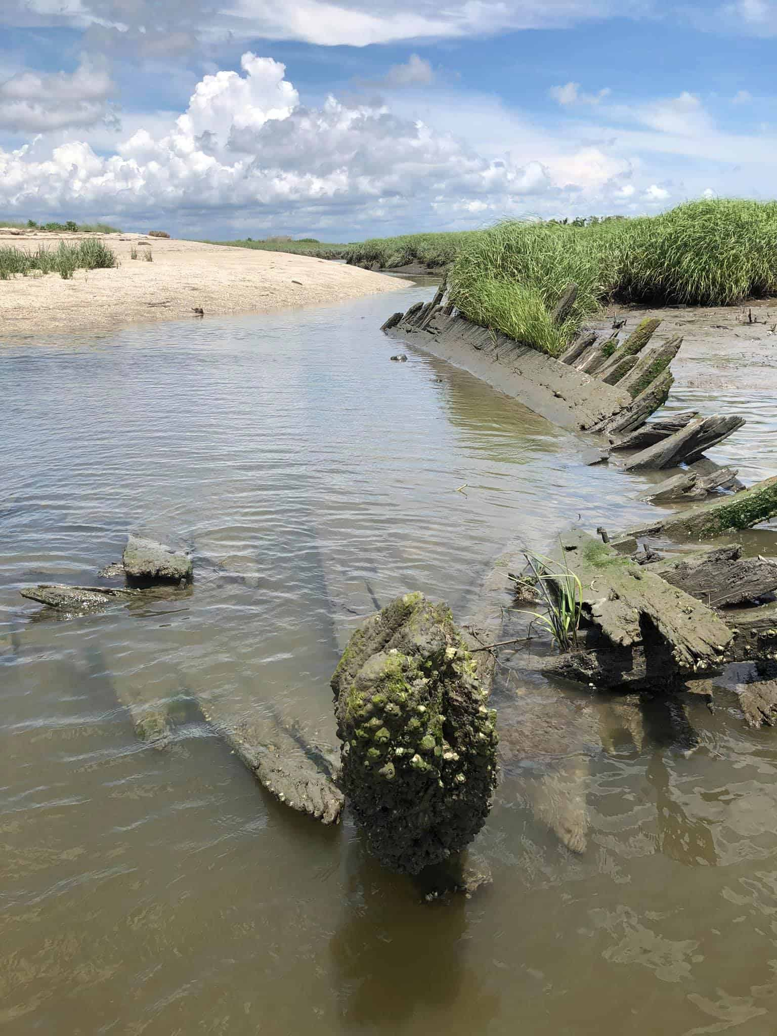 Old Sunken Boat Discovered In Cape May