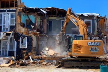 Wildwood House Demolition - Casa Del Rey (1925)