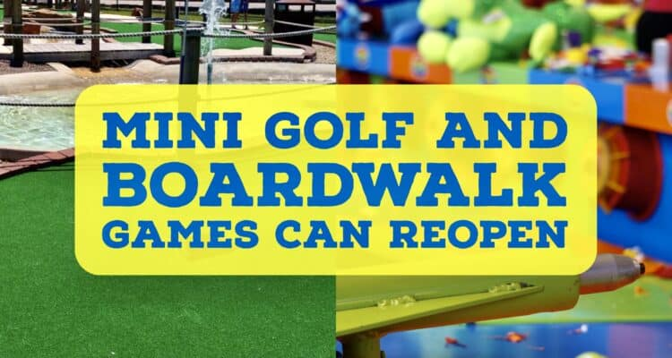 NJ Mini-Golf and Boardwalk Games Can Reopen