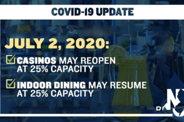 NJ Indoor Dining Gets Opening Date