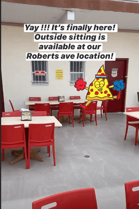 Mack's Pizza Offering Outdoor Dining!