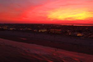 A Spectacular Wildwood Sunset (Drone)