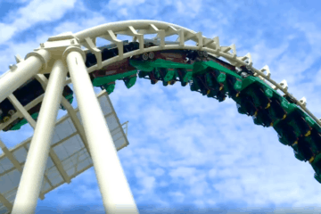 The Sea Serpent Coaster Is OPEN!!