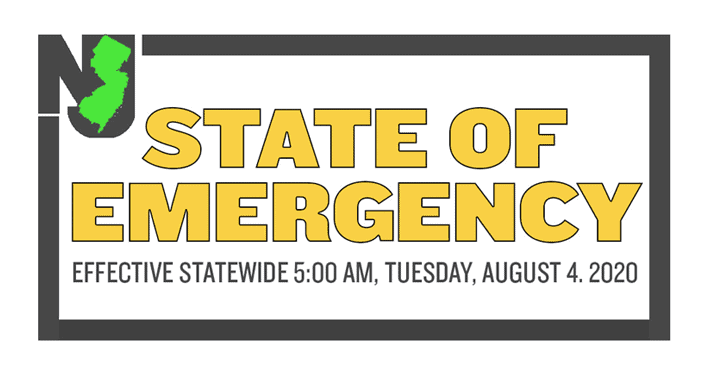 State of Emergency Issued In New Jersey
