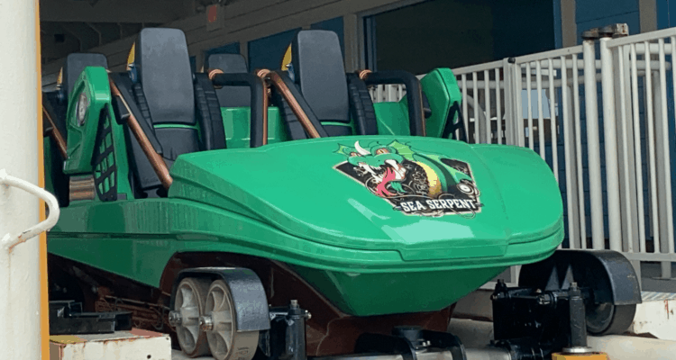 Could The Sea Serpent Coaster Be Opening Soon?