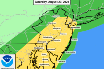 Laura To Bring Storms Into Our Area Today (Update)