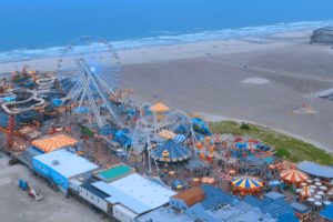 Wildwood Boardwalk Drone Tour 2020