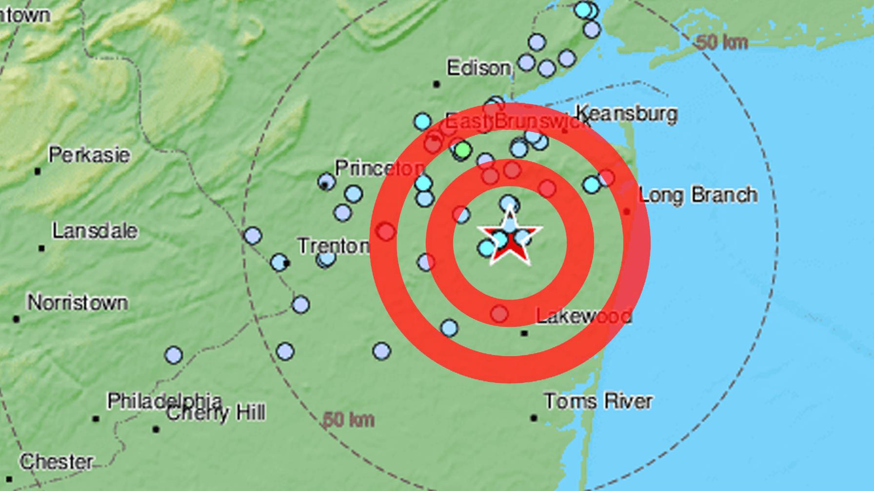 3.1 Magnitude Earthquake Hits New Jersey
