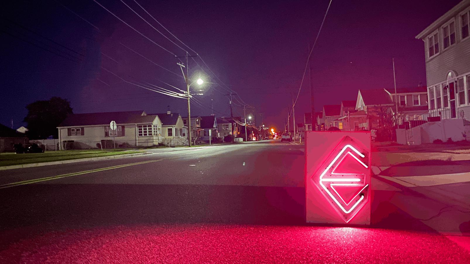 """Saving The """"E"""" [Wildwood Neon]"""