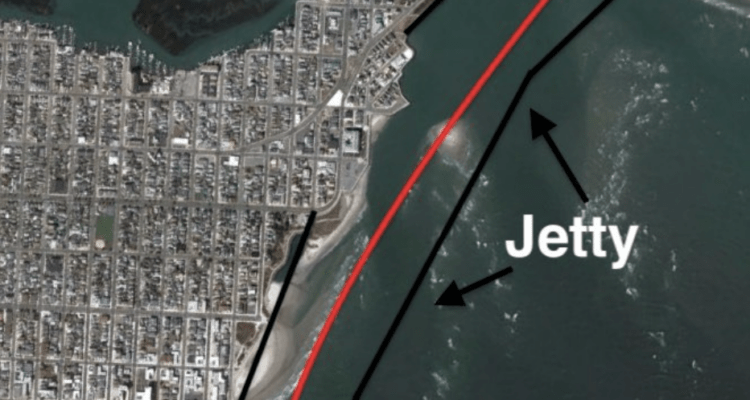 The N. Wildwood Jetty From The 70s That Never Happened