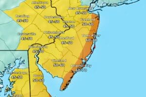 70+ Winds For Christmas Day in New Jersey