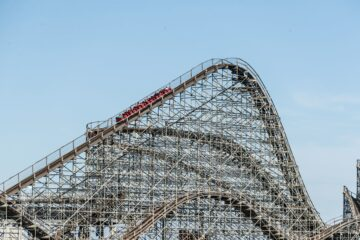 Great White Coaster Is Under Construction