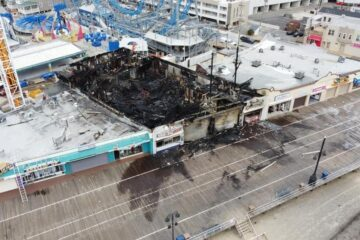 Aftermath Photos from Ocean City Boardwalk Fire