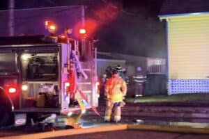 Cape May Fire Fighters Put Out Kitchen Fire