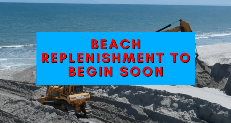 North Wildwood Beach Replenishment to Begin Soon 2021