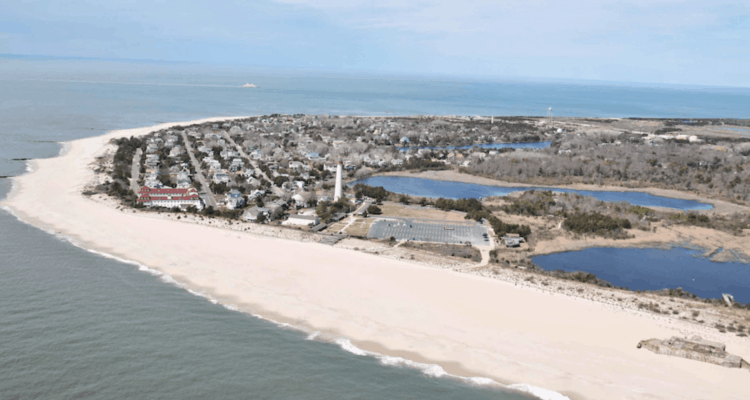 Explaining The Cape May Beach Project