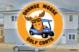 Orange Moose Golf Carts
