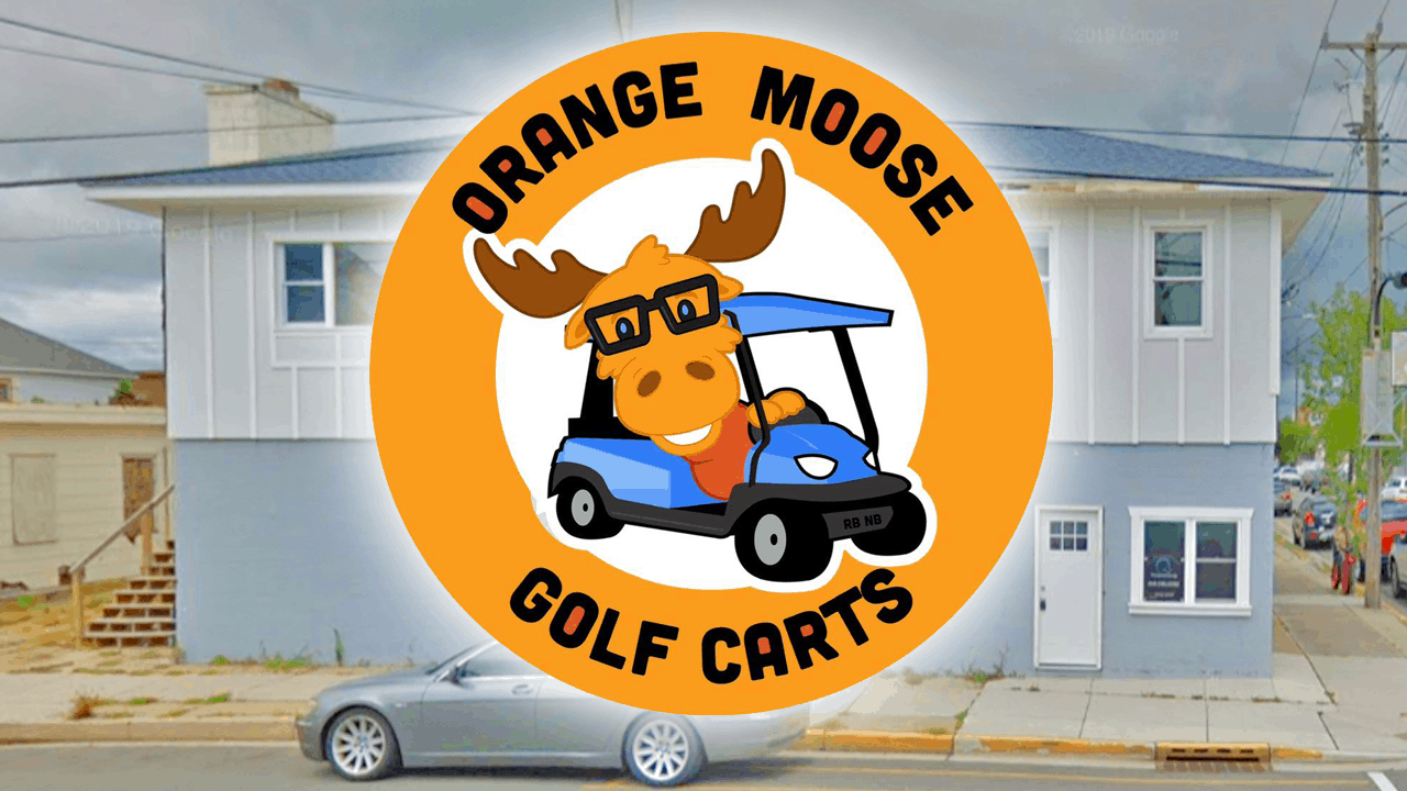 Orange Moose Golf Carts