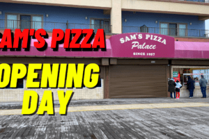 Sam's Pizza Opening Day Recap