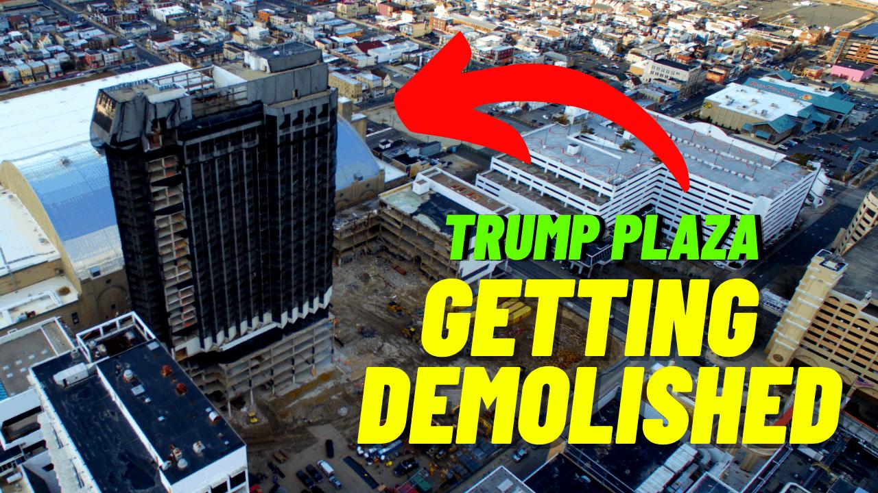 Trump Plaza Pre-Demolition Drone Tour