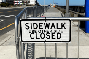 Why N. Wildwood's Beach Sidewalks Are CLOSED