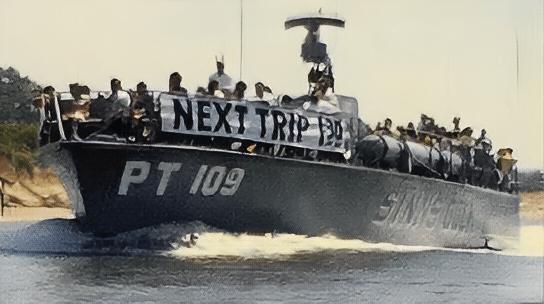 The Wildwoods in 1964 (Big Flamingo, PT 109, SS Delaware Ferry)