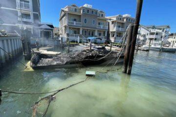 Wildwood Boat Fire UPDATE