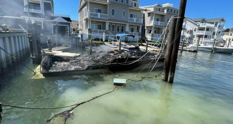 Wildwood Boat Fire UPDATE