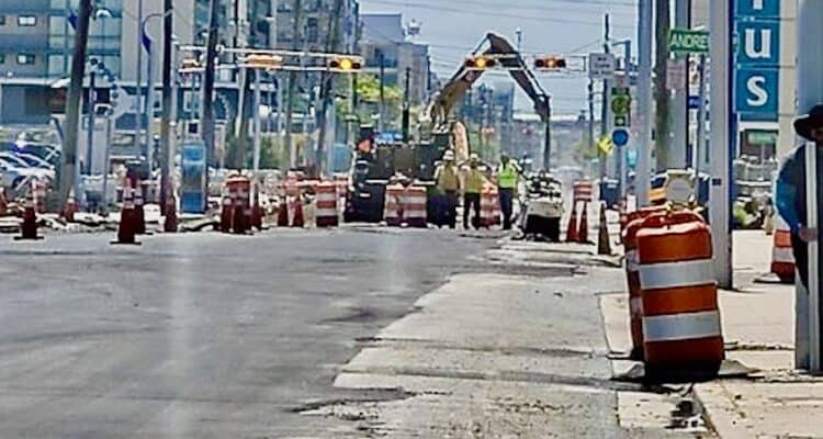 Ocean Ave Street Construction Update