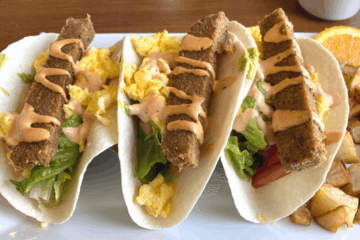 Trying Scrapple Tacos - Anglesea Pub