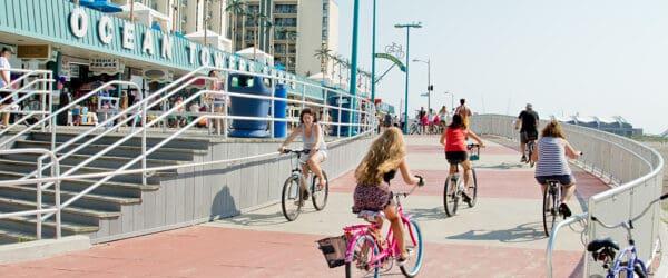 Wildwood Police To Enforce Boardwalk Bicycle Rules